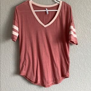 Distressed Baseball Tee